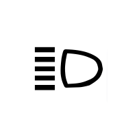 Kontrolllampe Fernlicht