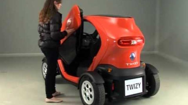 Twizy : Öffnen und schliessen der türen